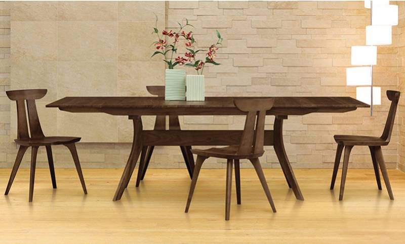 Copeland Furniture | Audrey Extension Dining Table | Walnut Wood
