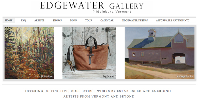 Vermont Fine Art Galleries: Edgewater Middlebury is one of the best