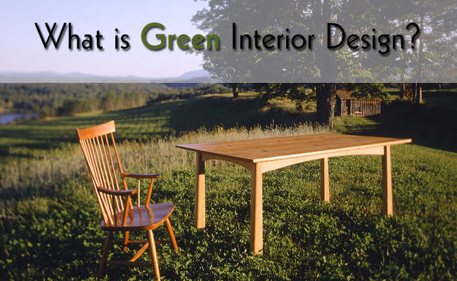 What is Sustainable Interior Design