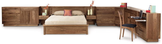 Built In Bedroom Furniture | Moduluxe by Copeland | American Made in VT