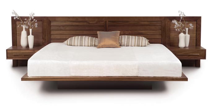 Copeland Moduluxe Collection with platform bed & integrated nightstands