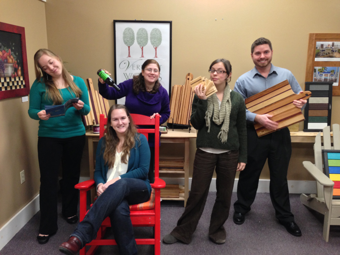 The Fab Five | Vermont Furniture Sales and Marketing Team