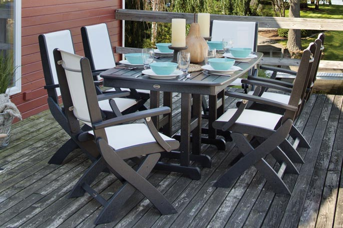 New Polywood Outdoor Furniture Set