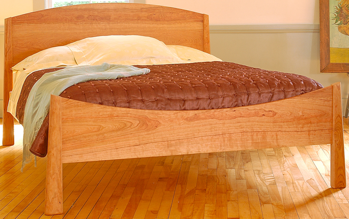 High Quality WoHardwood Furnitureod Bedroom Furniture | Cherry Moon Bed