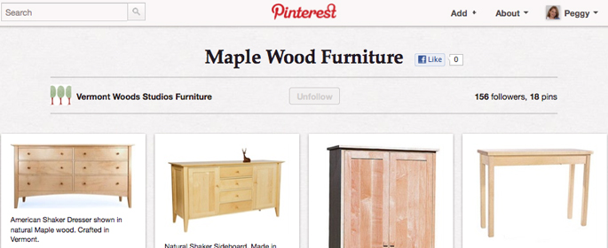 Solid Maple Wood Furniture