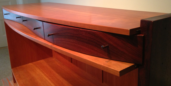 "Steve Holman's Sideboard at ""Source"" expo 
