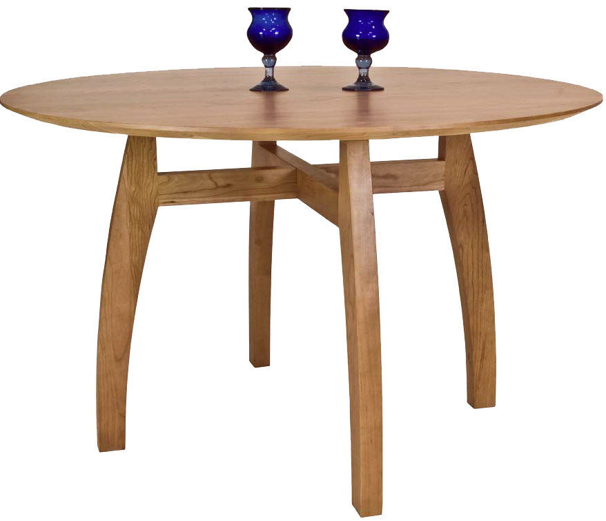 Custom Handmade Dining Tables | American Made in Vermont | All Real Solid Cherry Wood