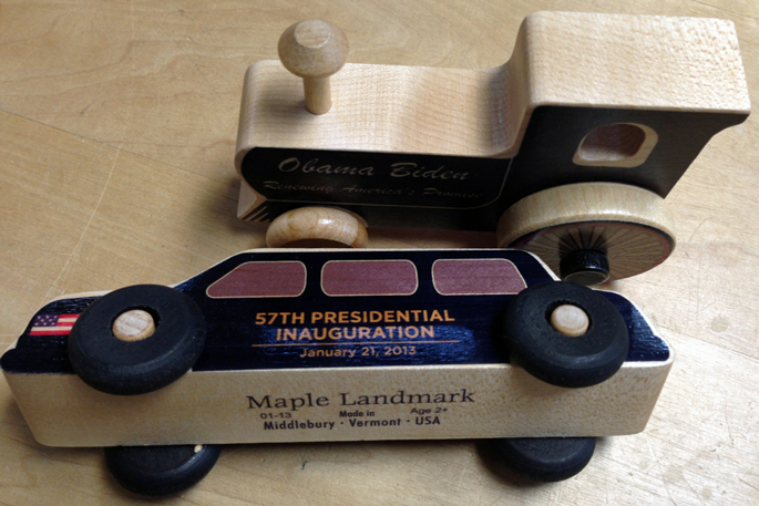 President Obama's Limo | Handmade in Vermont