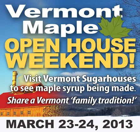 vermont maple open house weekend