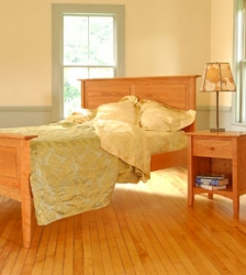 American Shaker Hardwood Bedroom Furniture