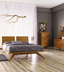 Astrid Mid Century Modern Bedroom Furniture by Copeland