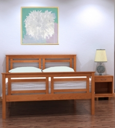 Contemporary Cable Hardwood Bedroom Furniture
