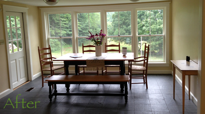 Vermont Furniture Showroom | Stonehurst Before and After