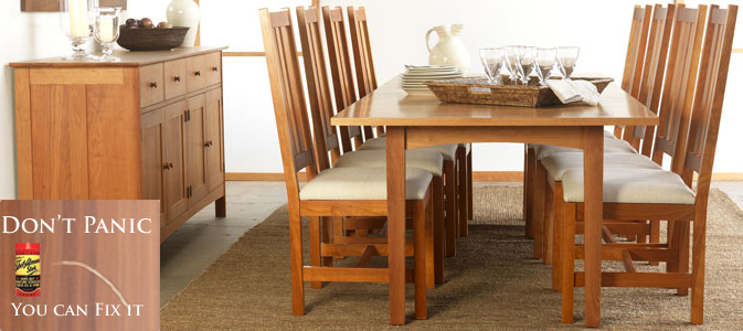 How To Fix Scratches on a Solid Wood Dining Table