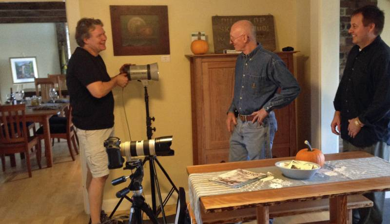 A Visit from Jim Westphalen and Vermont Life Magazine