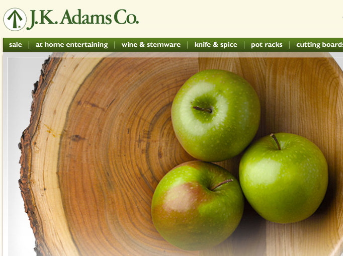 JK Adams Kitchen Store | Now at Stonehurst Fine Furniture and Home Decor Gallery