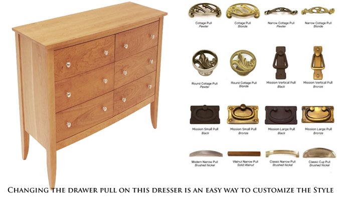 Custom Bedroom Furniture | Made in Vermont of Real Solid Hardwoods