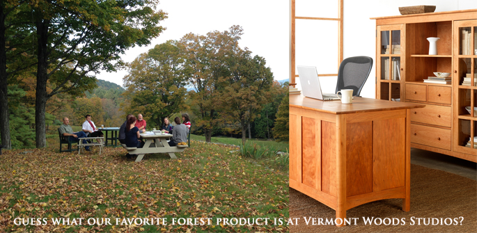 Celebrate National Forest Product Week   Vermont Wood Furniture