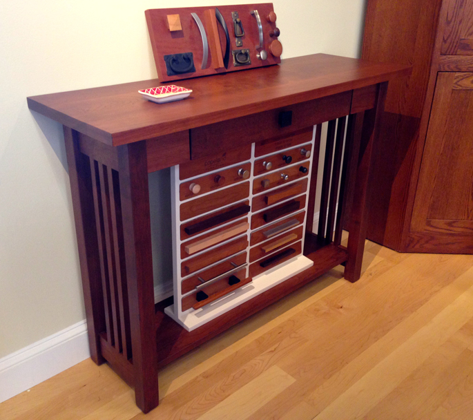 Mission Style Sofa Table | Hardwood Furniture Made in America