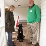 Carol, Neville and someone waiting patiently for a treat #2
