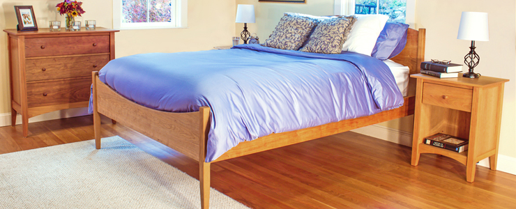 Cherry Furniture | Handmade in Vermont | Real Solid Hardwood