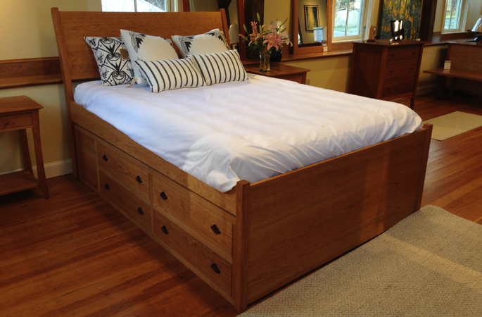 The biggest, best cherry storage bed you'll ever find