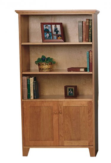 Solid-Wood-Bookcase