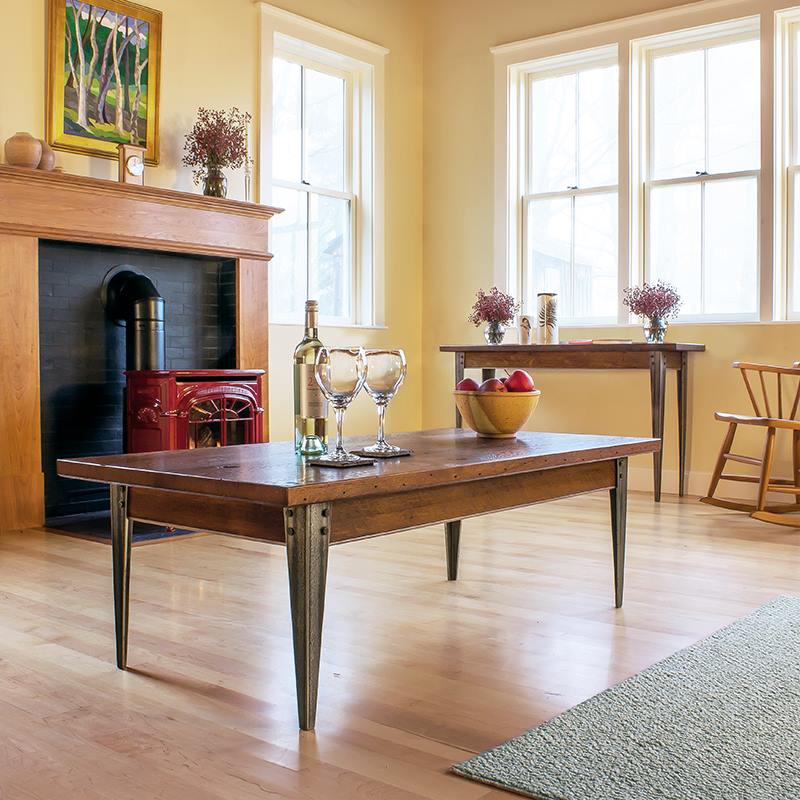 Wood and Metal Furniture - Mixing Old and New for a Beautiful, Unique Home Style
