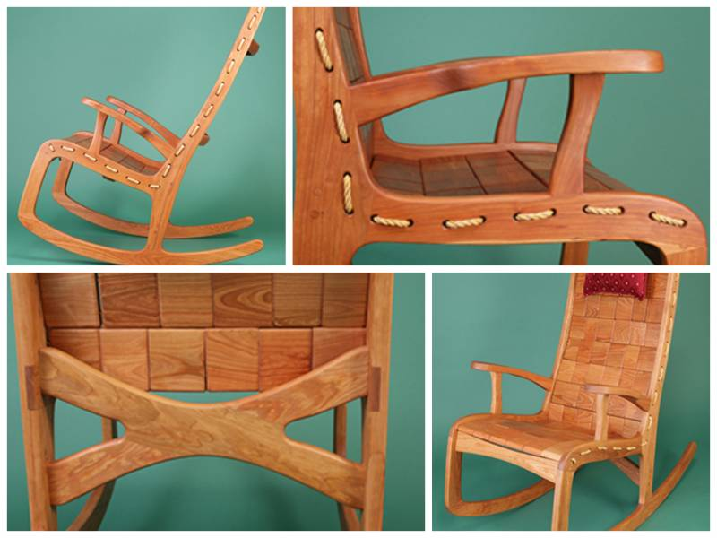 Handmade Vermont Rocking Chair