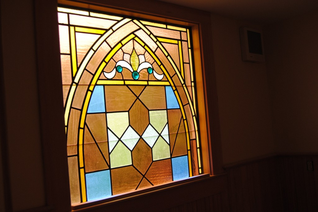 Stained Glass Window from St. Patricks Church