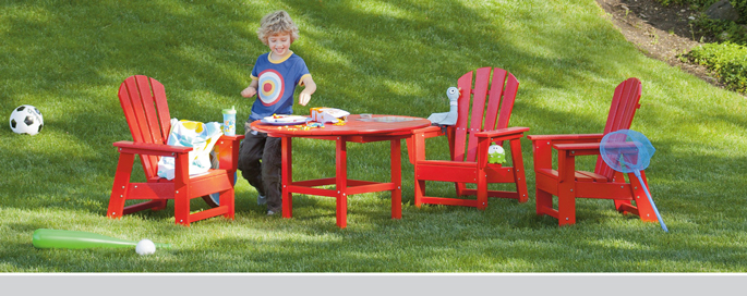 Kids All Weather Adirondack Chairs