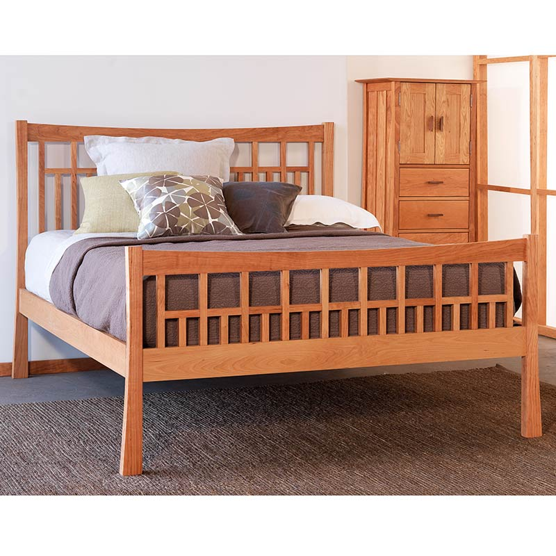 Exploring mission style bedroom furniture vermont woods for Mission style bedroom furniture