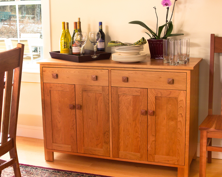 Mission Style Buffet Sideboard