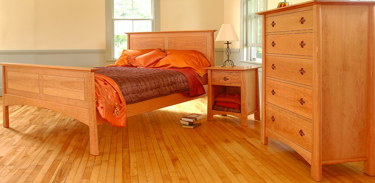 Arts and Crafts bedroom furniture from Vermont