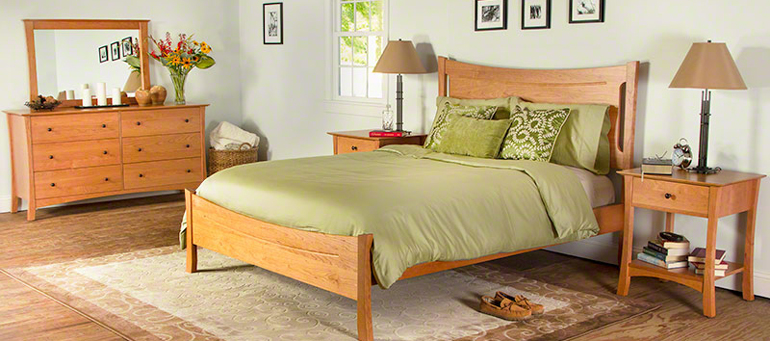 Brandon arts and crafts style bedroom set