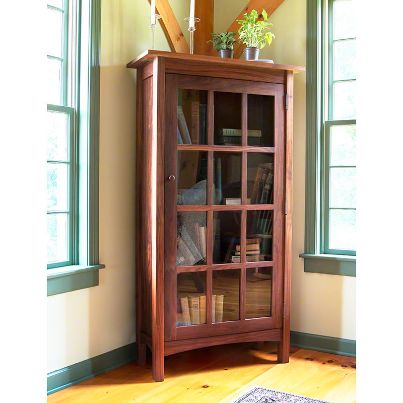 Bookcases | Real Solid Walnut Wood | Shaker Style | USA Made