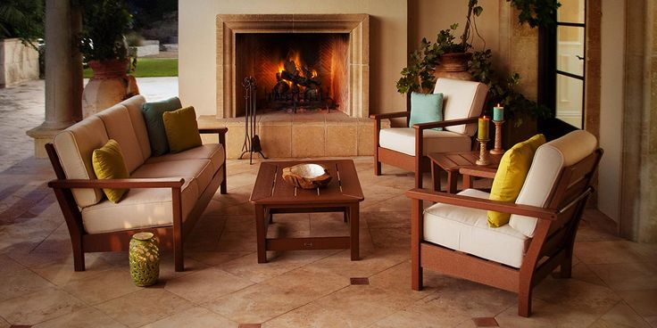 American Made Deep Seating Outdoor Furniture
