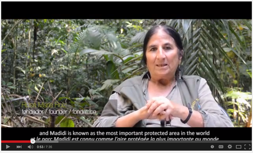 Rosa Maria Ruiz | Madidi Travel | Serere | Conservation through Ecotourism