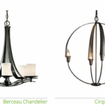 Chandeliers by Hubbardton Forge