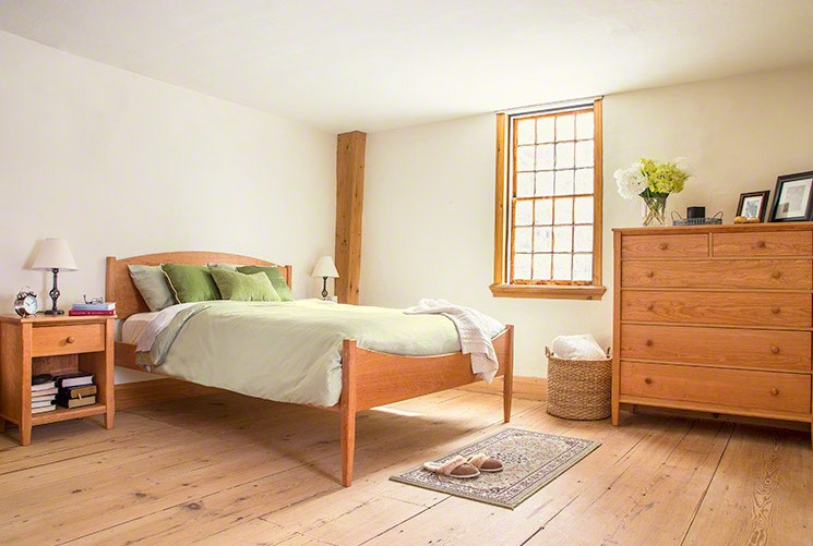 The Vermont Shaker Bedroom Set | Natural Cherry Wood | Vermont Woods Studios