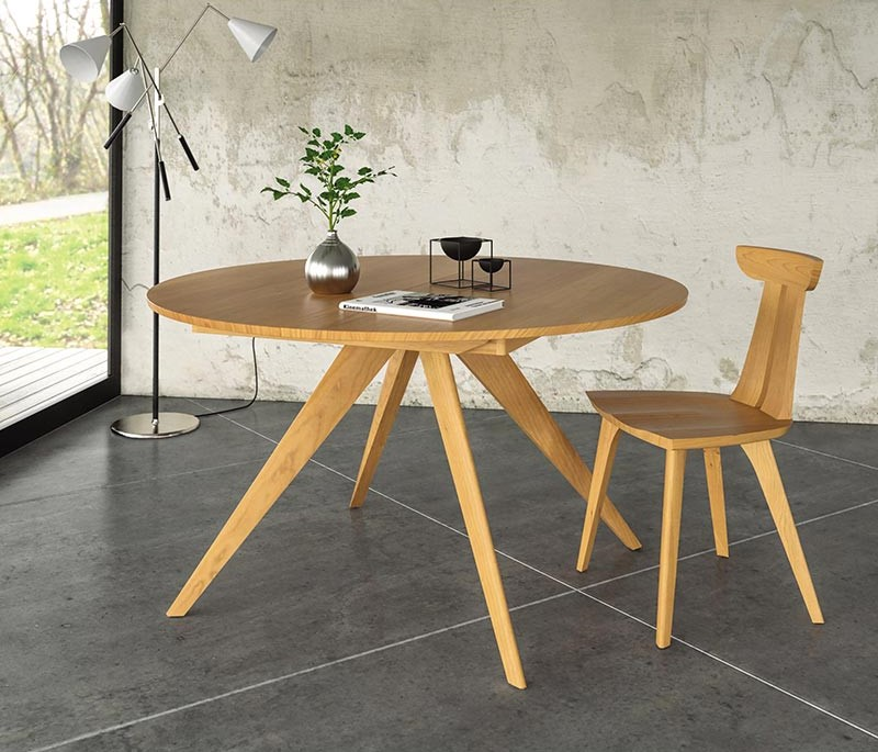 Catalina Round Extension Table | Estelle Chair | Copeland Furniture Quick Ship