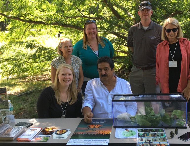 Sending thanks to the good folks at Harvard's Arnold Arboretum for hosting our Save the Monarch Butterfly Tour!