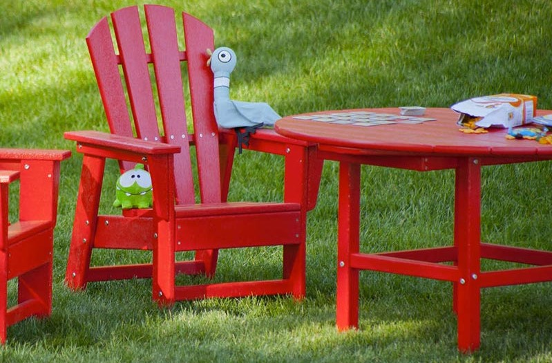 Eco Friendly And Toxic Free Outdoor Kids Furniture