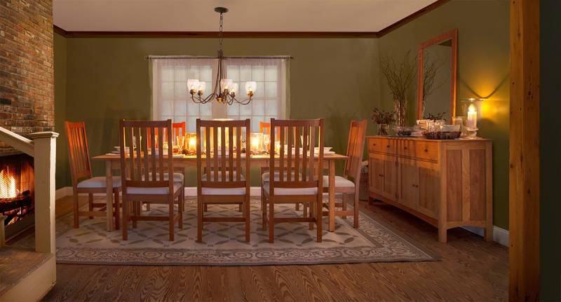 Save during our 2016 holiday dining furniture sale for Furniture xmas sales