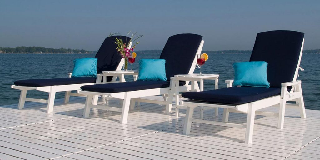 Mothers Day Gift Guide | Chaise Lounges from Polywood