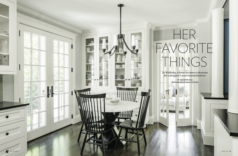 Boston Magazine: Get That Look with Vermont Woods Studios Windsor chairs | #GetThatLook