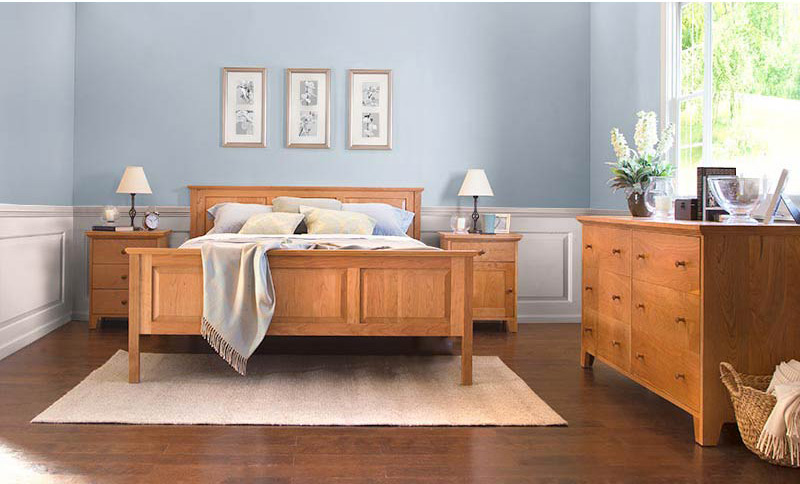 American Country Cherry Bedroom Set