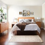 Mid-Century Modern Platform Bedroom Collection