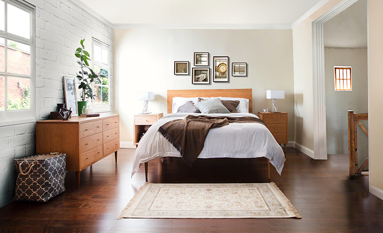 Mid-Century Modern Bedroom | Larssen Bed, Dressers, Chests, Night Stands