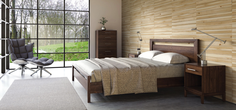 Copeland's Mansfield bedroom furniture is handcrafted and made to order.